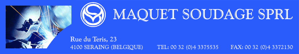 Maquet Soudage